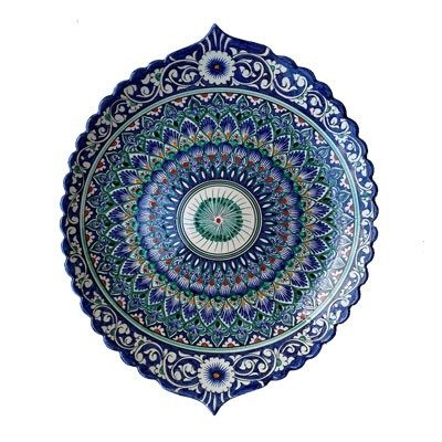 Шашлычница керамическая овальная