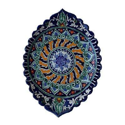 Шашлычница керамическая овальная 32 см