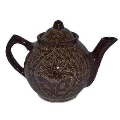 чайник риштанская керамика