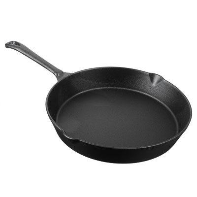 Сковорода Чугунная D-2 см, со сливом